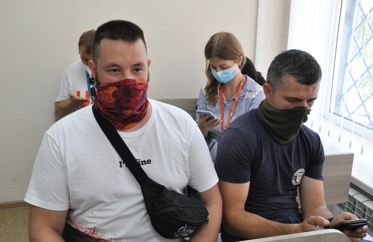 Олександр Коба та Дмитро Юденко