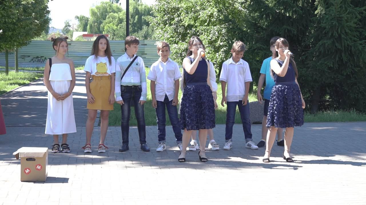 Учні Міжнародної дитячої школи «Юний європеєць» привітали авіаційників зі святом