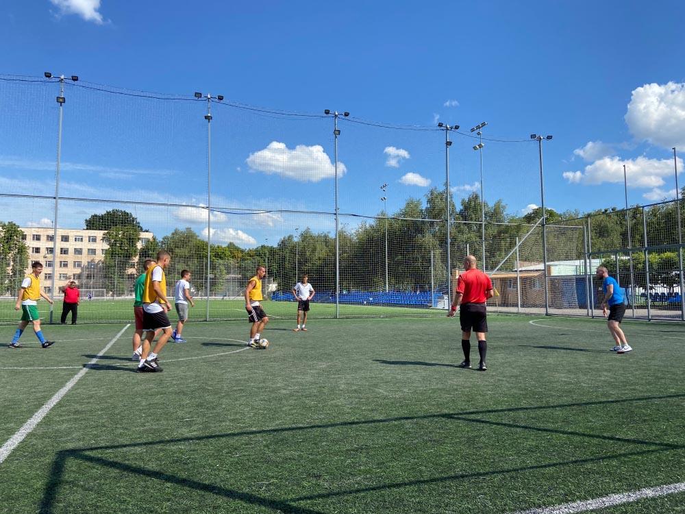 Футбольний турнір між активною молоддю Полтави