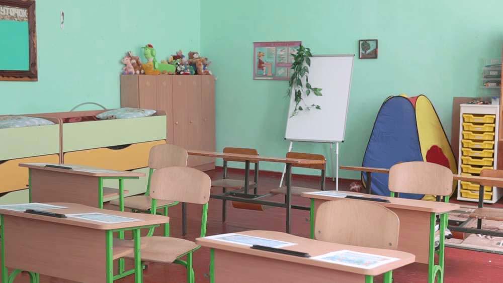 Класи для першачків, відремонтовані за стандартами НУШ