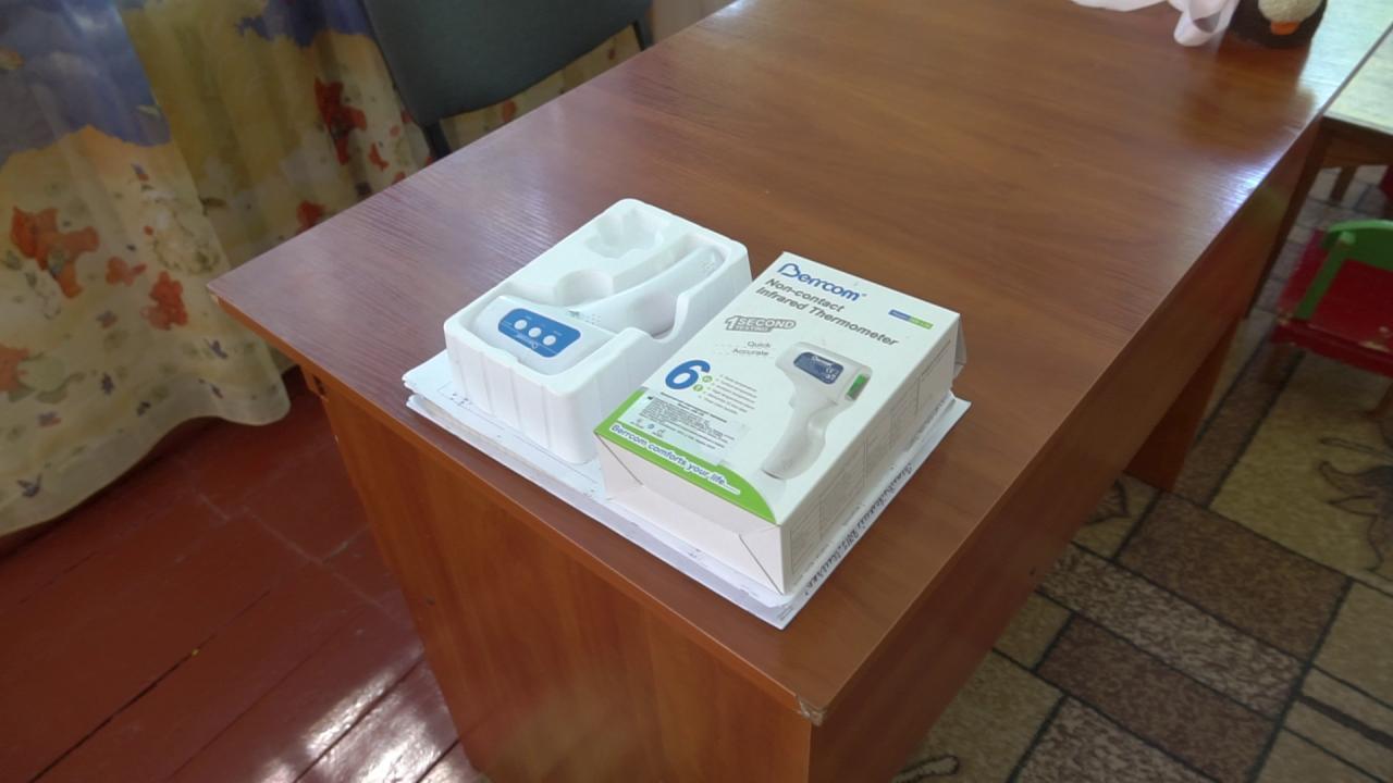Підприємство закупило засоби індивідуального захисту та термометри для двох дитсадків