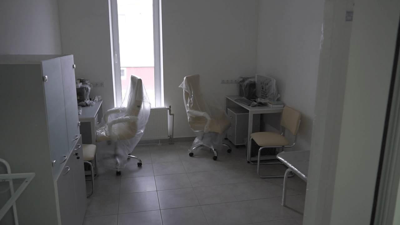 У будівлі облаштували кабінети, маніпуляційні