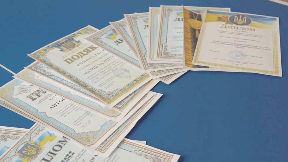 Впродовж цього навчального року учні Ковалівської ЗОШ отримали 72 нагороди