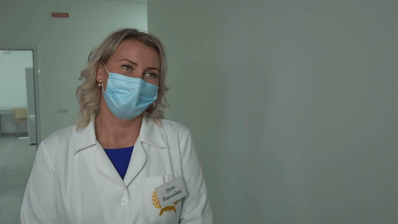 Завідувачка Розсошенської амбулаторії Ірина Назарець
