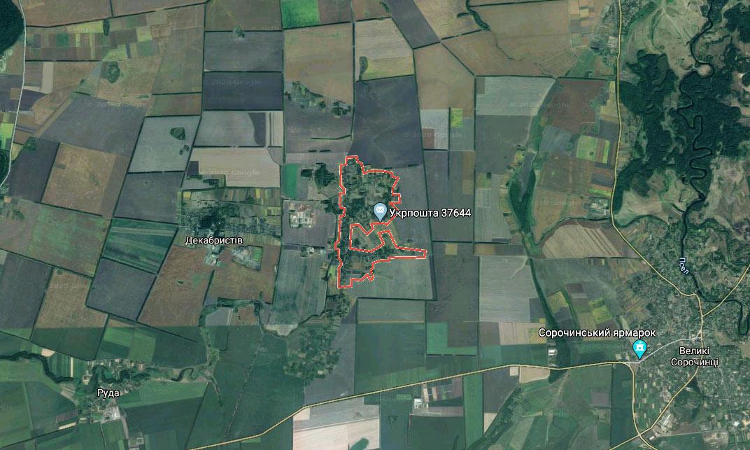 Село Великий Байрак Миргородського району