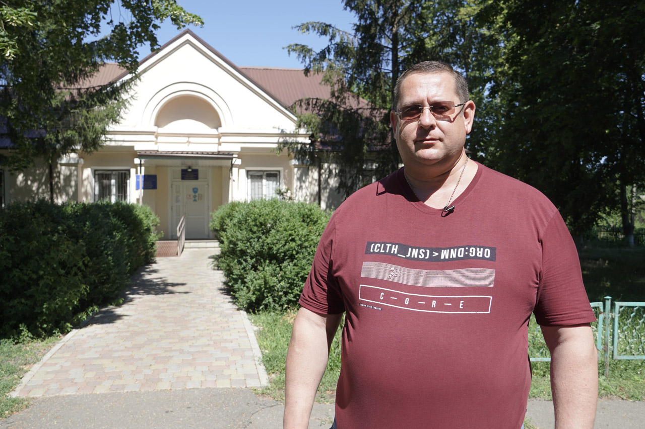 Депутат Полтавської районної ради Михайло Сокирко