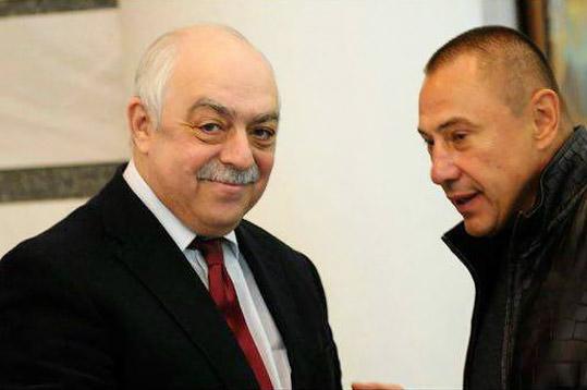 Вадим Казарцев (праворуч)