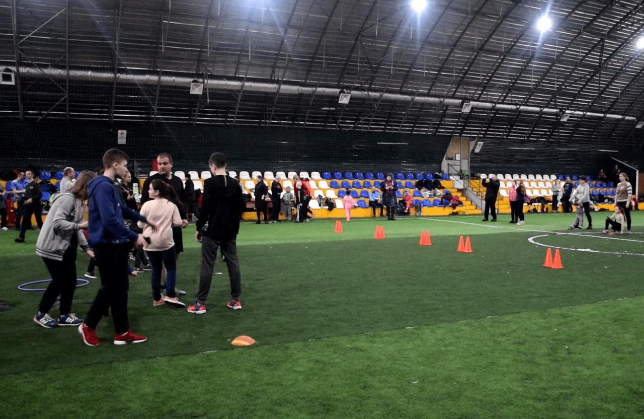 Спортивні змагання допомагають заохотии дітей до занять