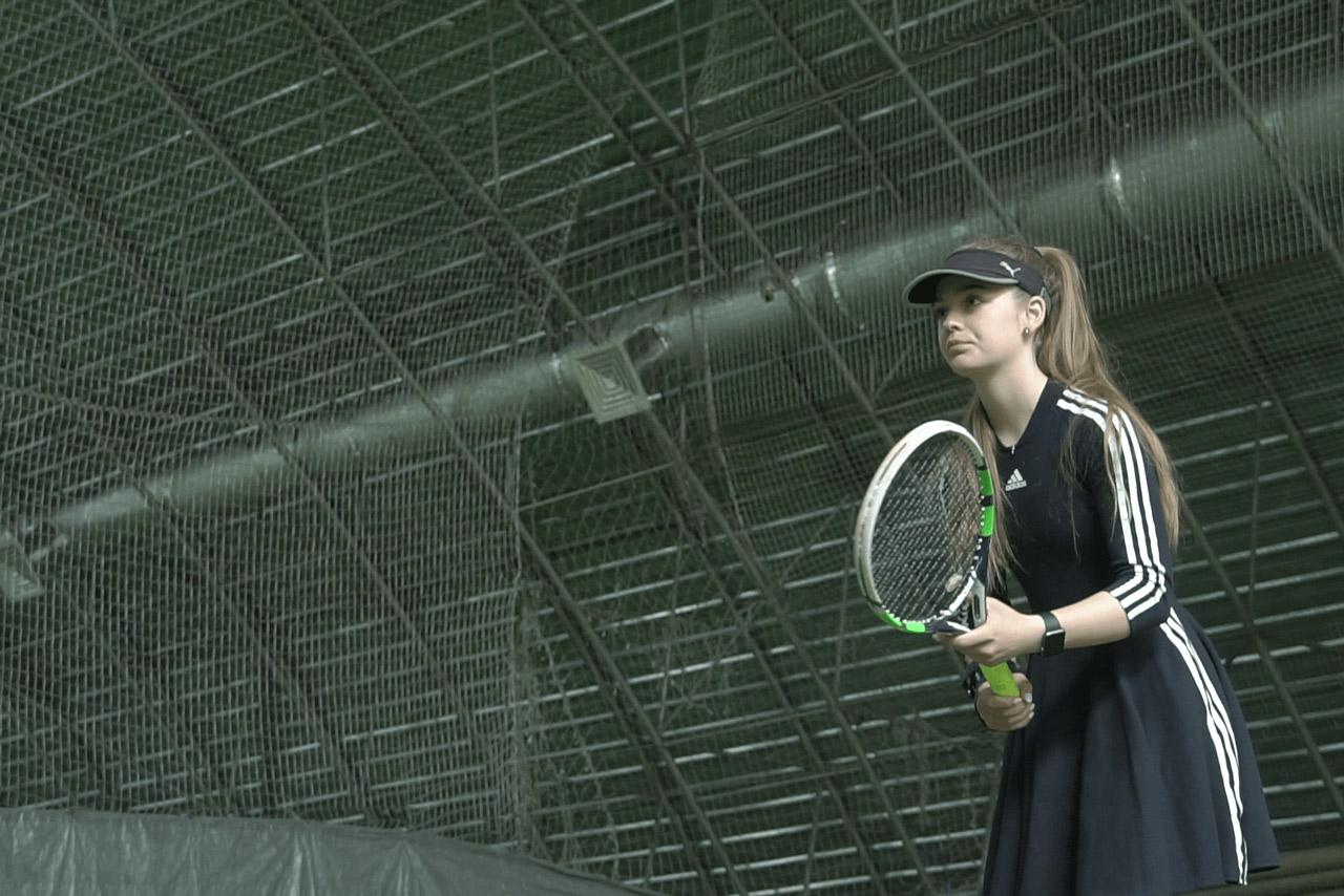 У спортивному комплексі «Розсошенці» проводять тренування з великого тенісу