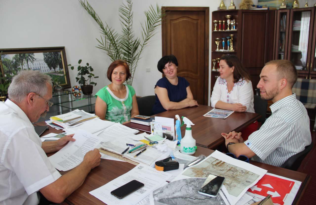 Зустріч в Щербанівській ОТГ