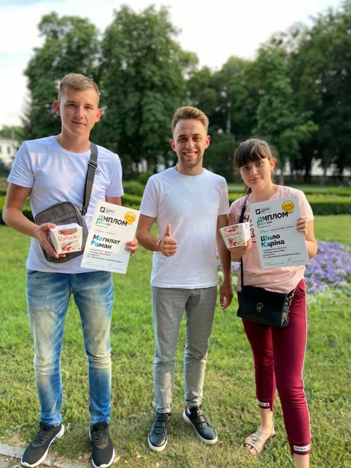Нагородження переможців онлайн конкурсу до Дня молоді-2020