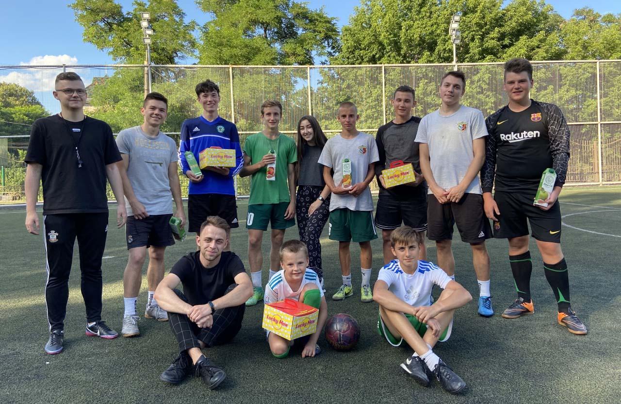 Проведення футбольного турніру Полтавською молодіжною радою