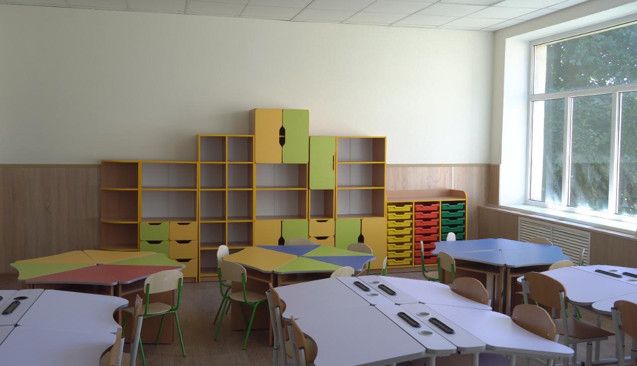 Нові меблі для першачків Щербанівського ліцею