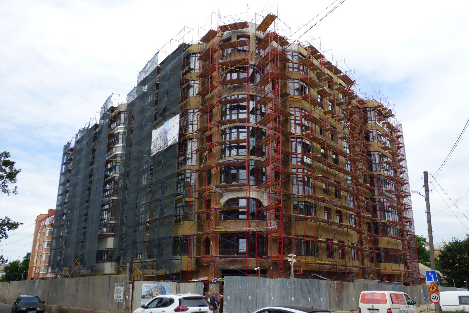 Будівництво на Пилипа Орлика, 26 (липень 2020)