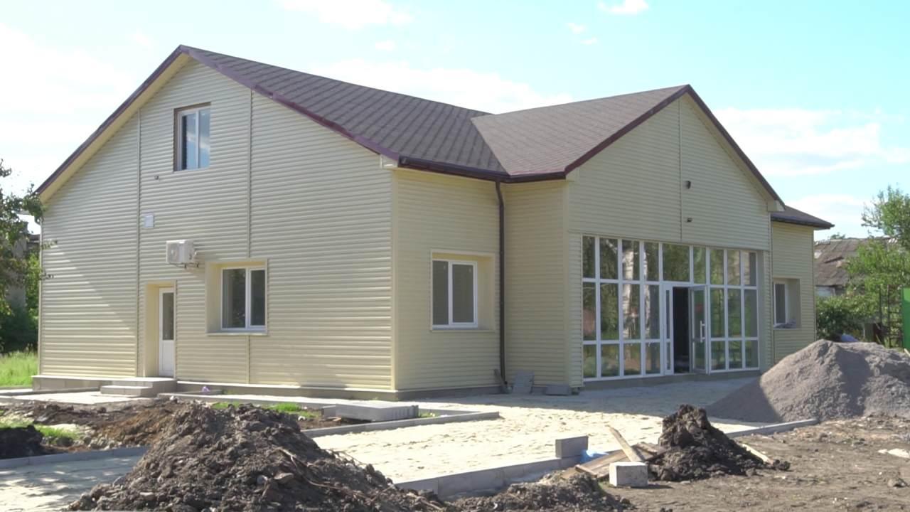 У Божківському триває будівництво амбулаторії сімейної медицини