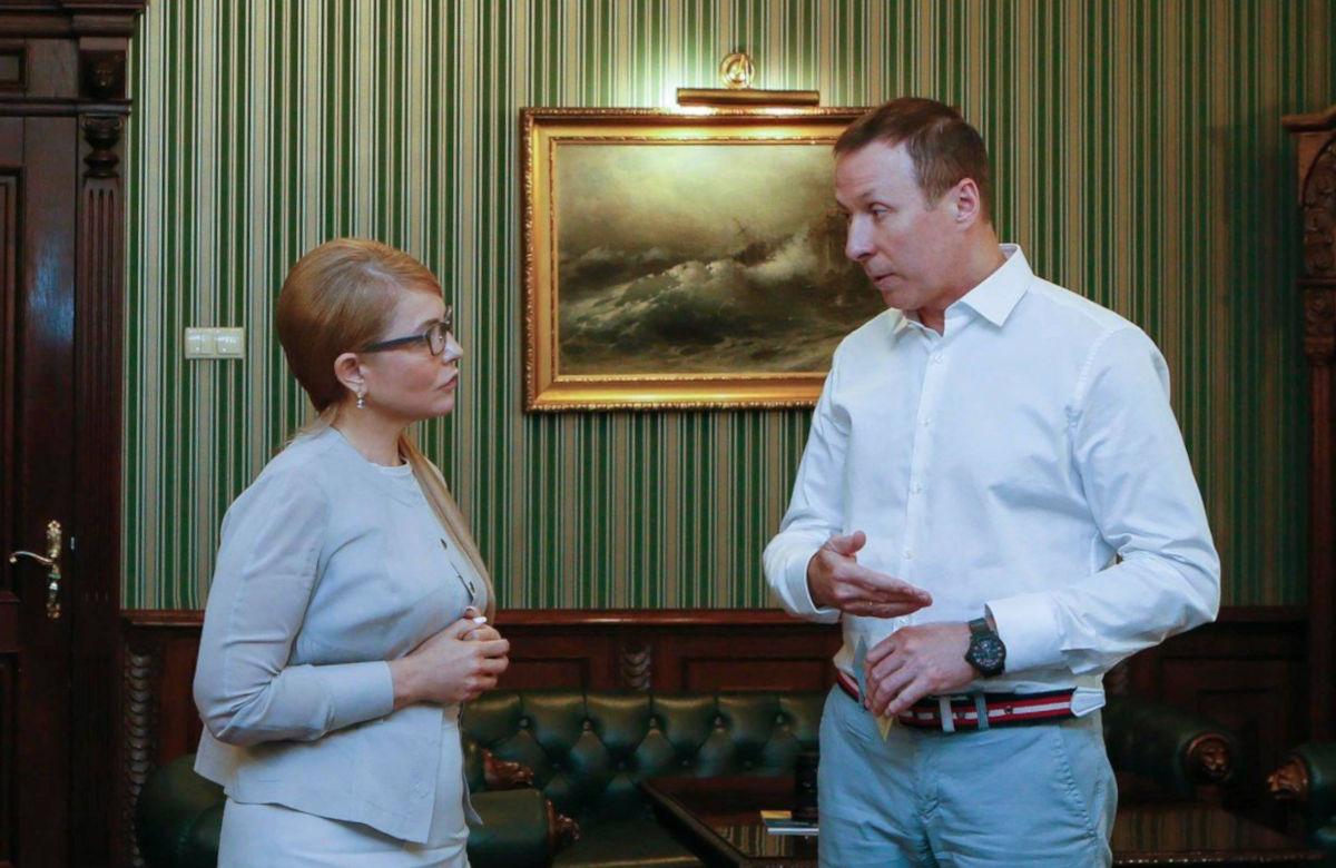 Юлія Тимошенко запропонувала  очолити міську організацію «Батьківщини» Андрію Матковському