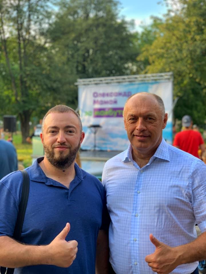 Ігор Еренбург з Олександром Мамаєм