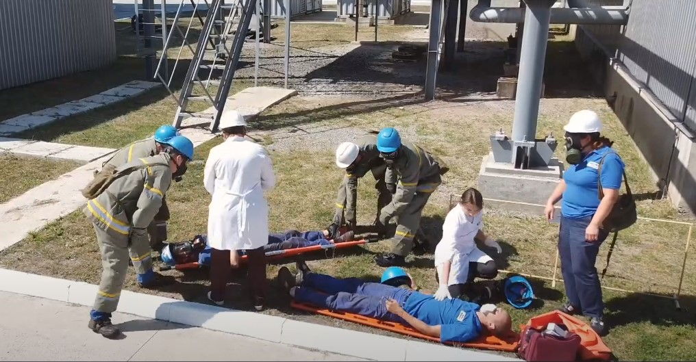 Навчання провели спільно з медиками та рятувальниками