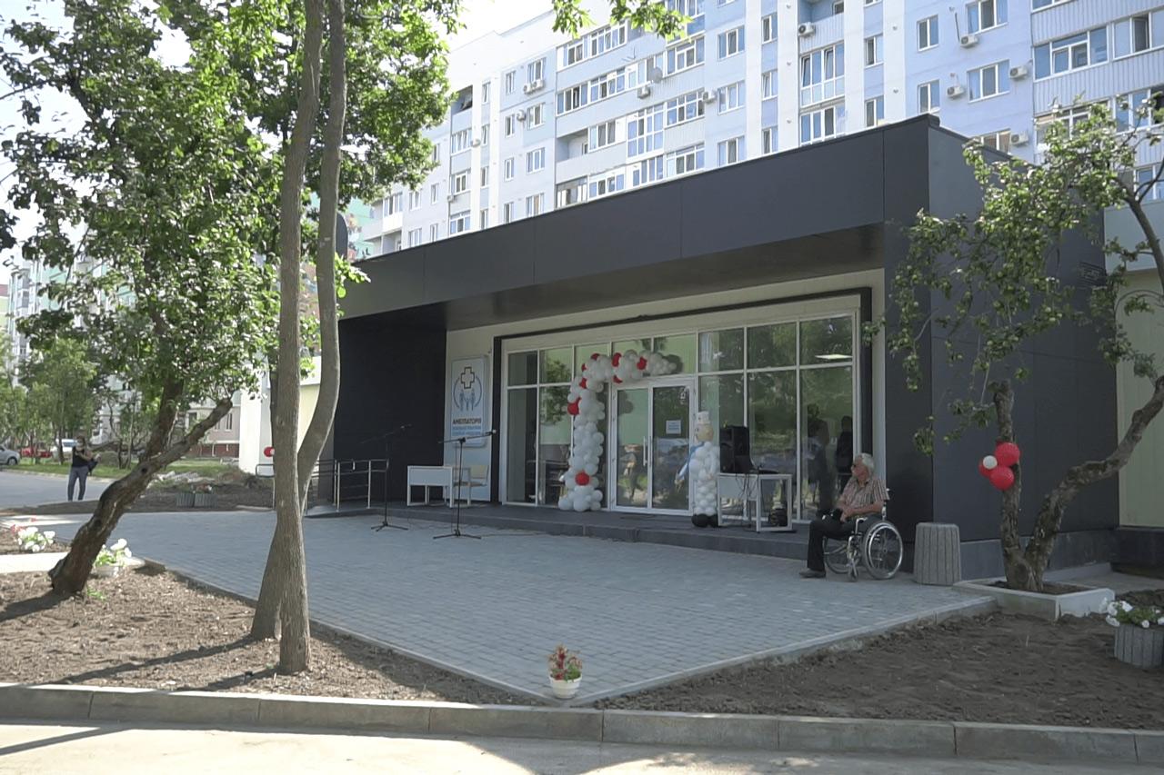 У мікрорайоні «Садовий» у Розсошенцях відкрили нову амбулаторію