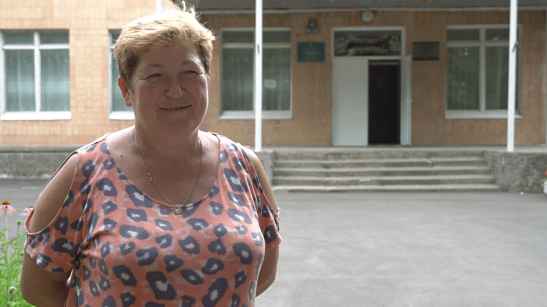 Учителька початкових класів Степненського НВК Ася Мушит-Осташко