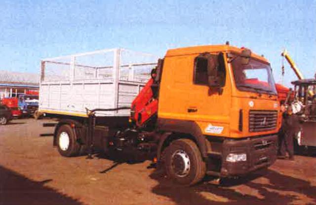 Полтавське КАТП-1628 замовило три самоскиди на шасі МАЗ-5340С5 з КМУ Palfinger по 3 млн 471 тис. грн кожний