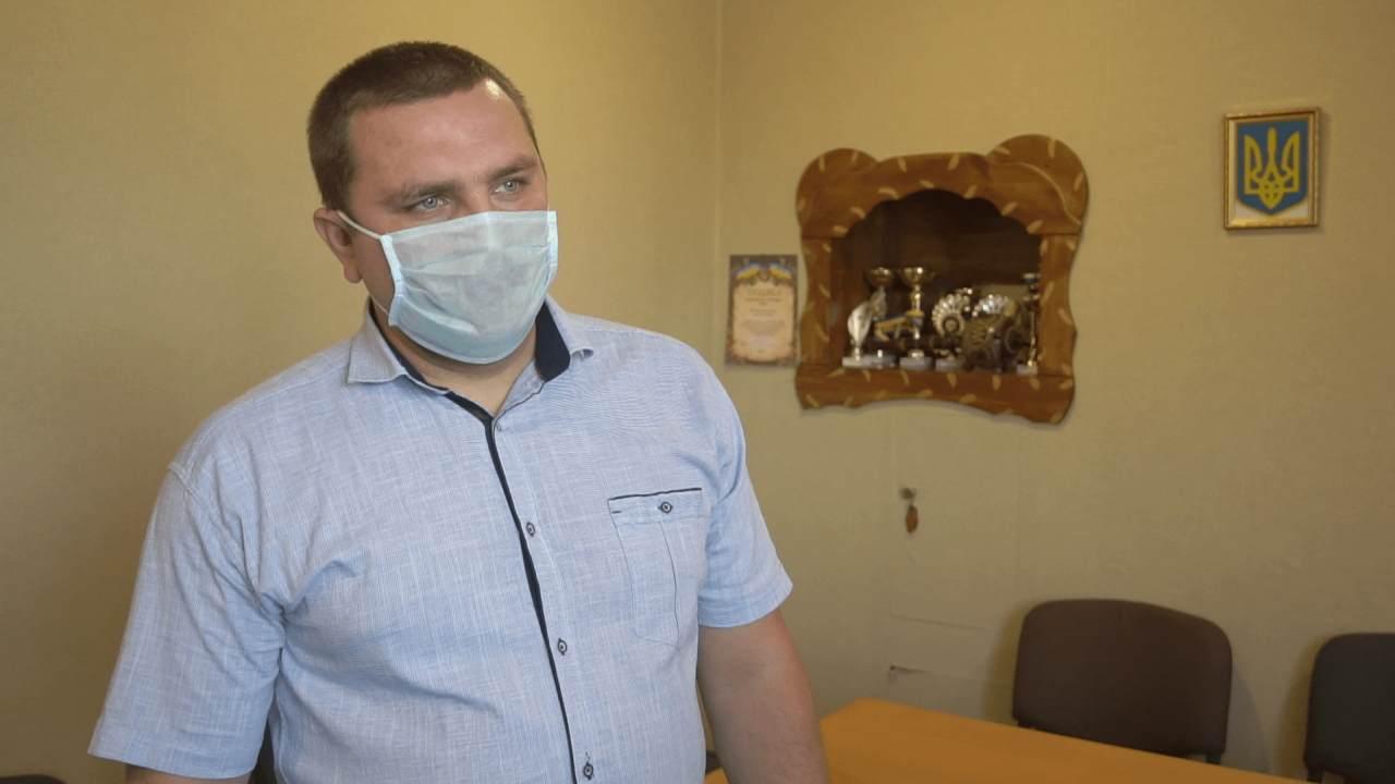 Голова Великопавлівської сільської ради Ярослав Переятенець