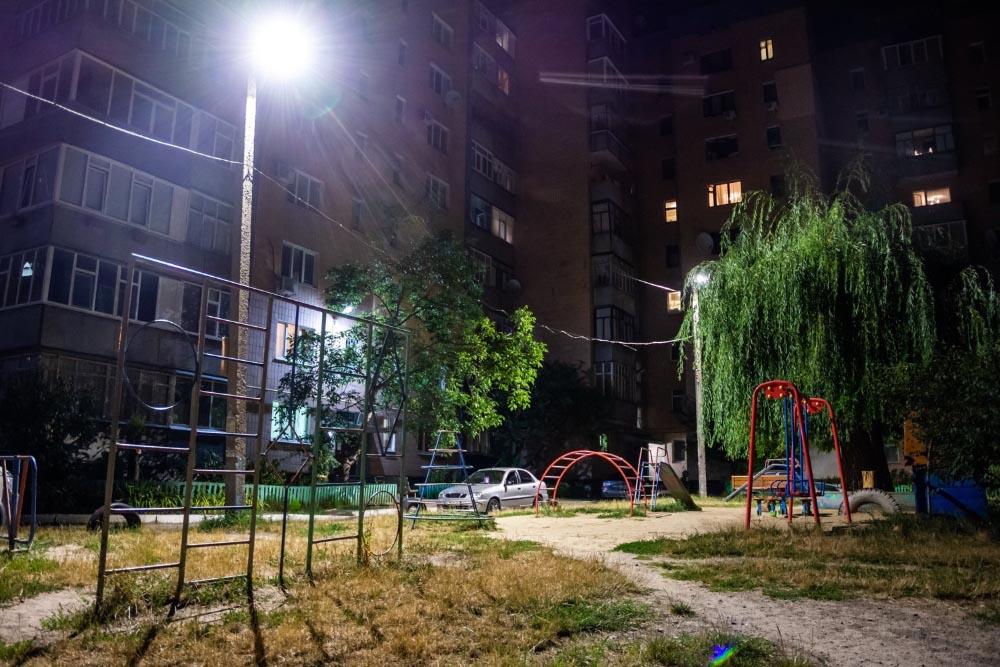 Освітлення дитячих майданчиків