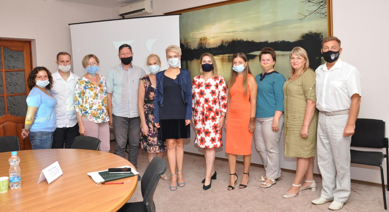 Команда, яка працювала над створенням туристичного логотипу Полтавщини