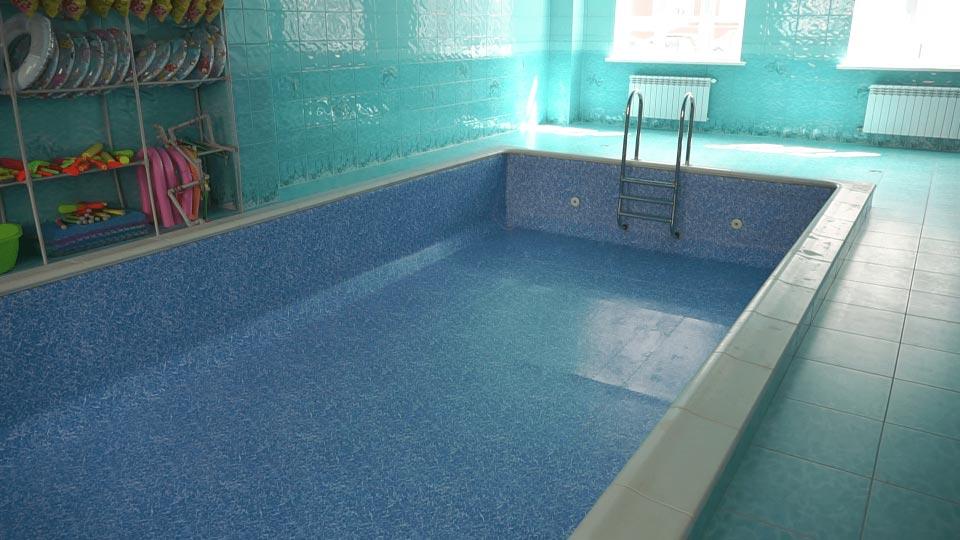 У дитсадку «Яблунька» облаштували басейн