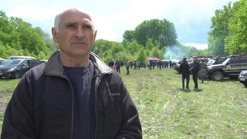 Заступник гендиректора агрофірми «Подоляка», біолог-мисливствознавець Петро Нос