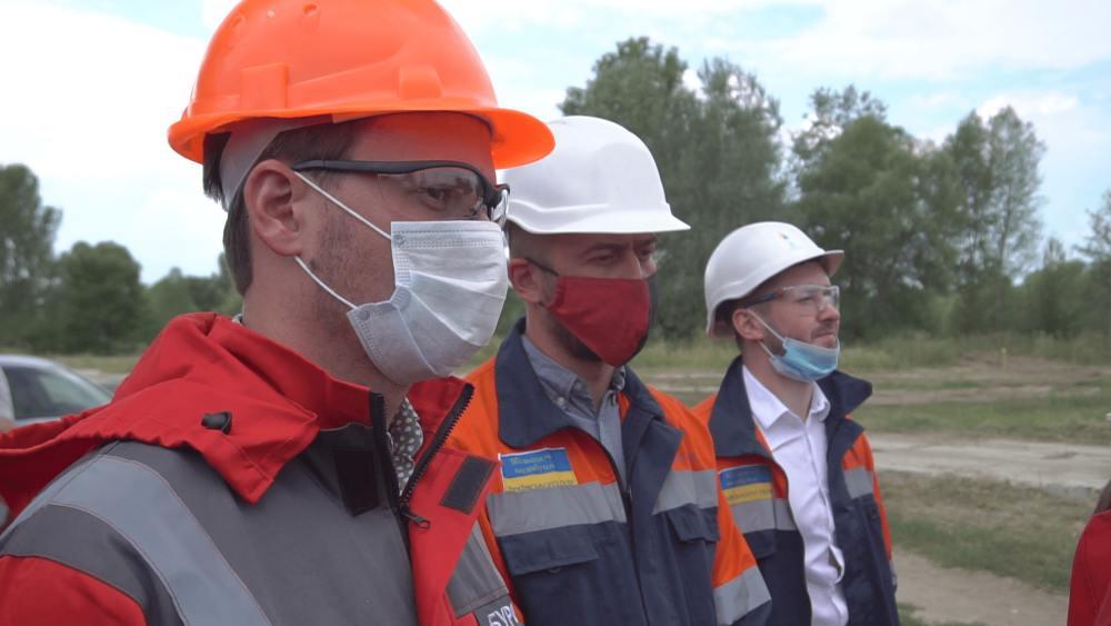 Делегація на чолі з екологами відвідала свердловину 202 Опішнянського ГКР