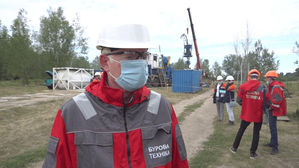 Директор ТОВ «Бурова техніка» Віталій Вітрик