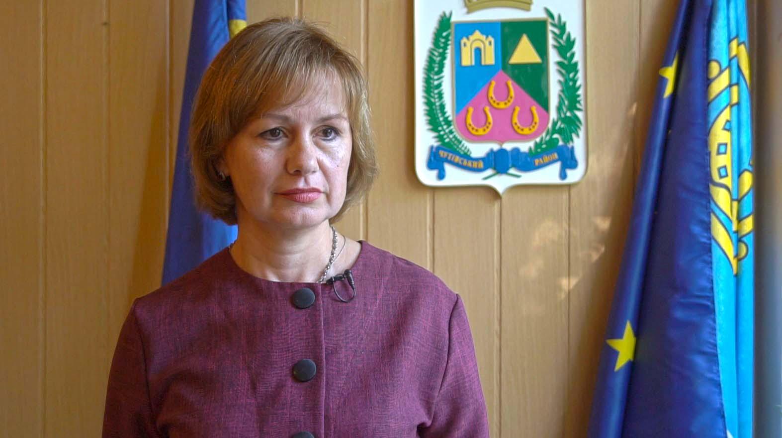 Тетяна Данільченко, голова Чутівської РДА