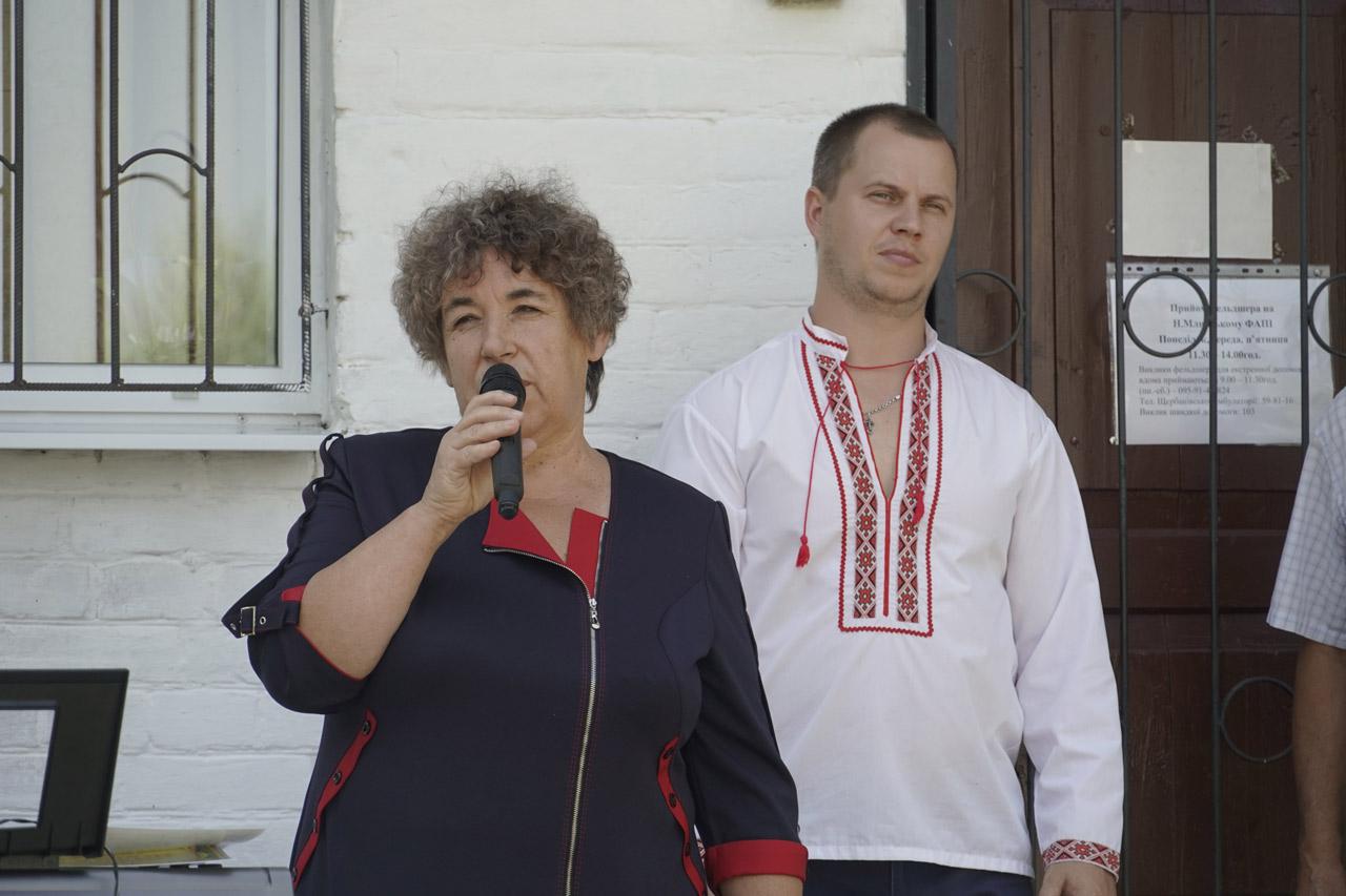 Директор Будинку культури у Нижніх Млинах Лідія Таровик