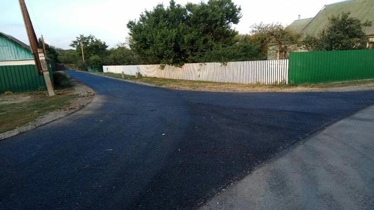 Капітально відремонтована дорога на у селі Буланове