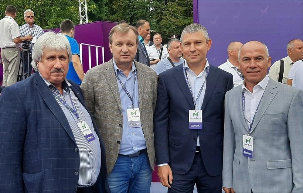 Юрій Шаповалов з представниками Полтавської області