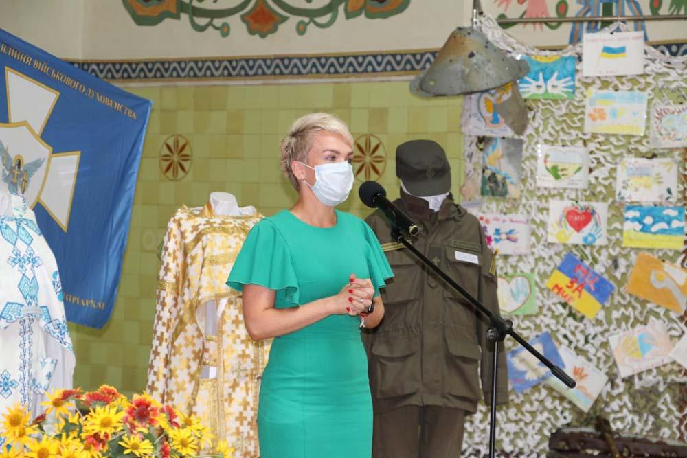 Привітальне слово Катерини Рижеченко