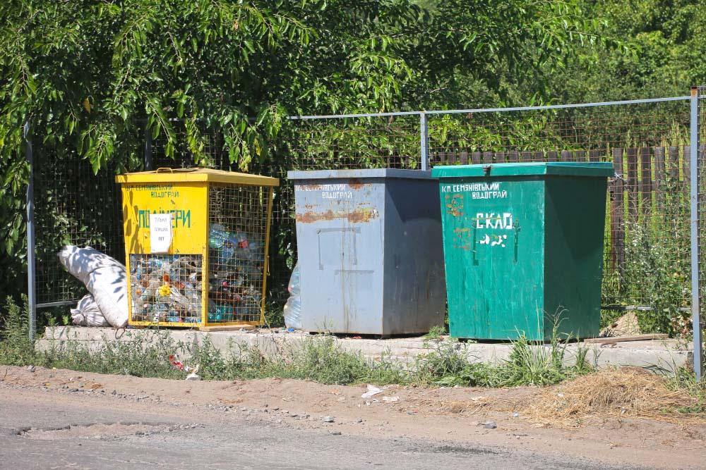 У Сем'янівській сільській раді сортують сміття