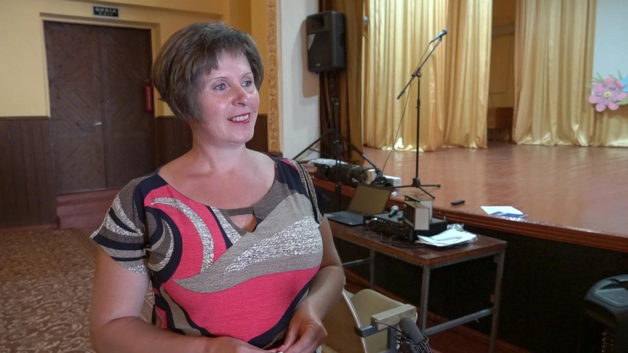 Директорка Вовчицького будинку культури Світлана Костюк