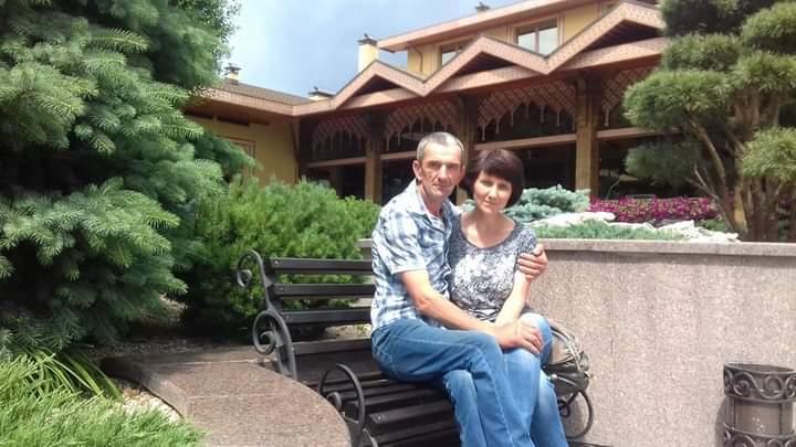Юрій Кравченко із дружиною Оленою