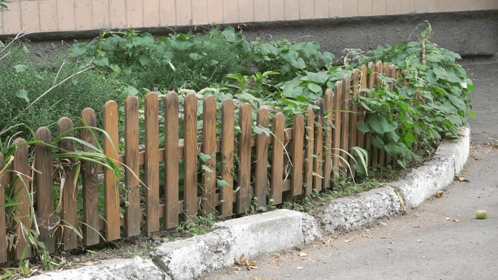 Сільська рада виділила кошти на дерев'яні огорожі для клумб