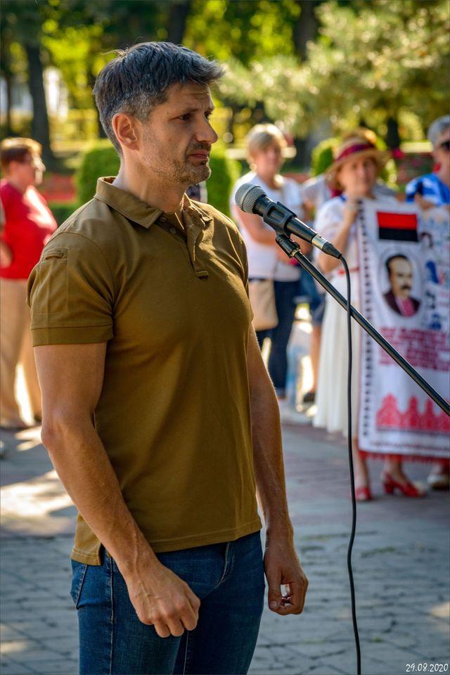 Ветеран полку «Азов» Андрій Олефіренко