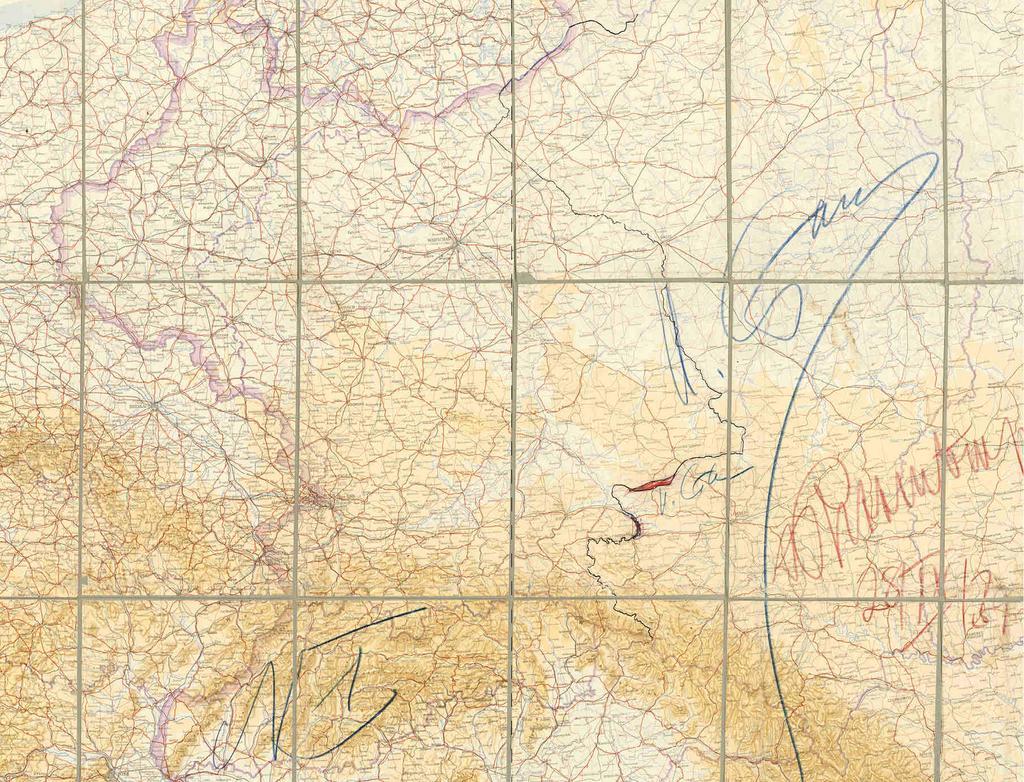 Карта поділу Польщі