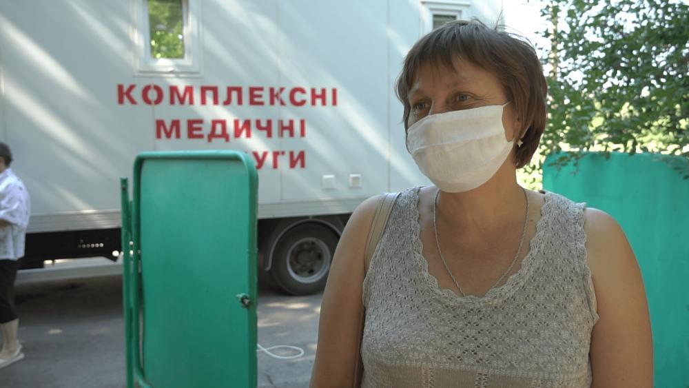 Мешканка с. Бережнівка Наталія Мартиненко