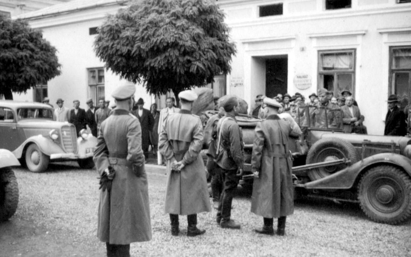 Зустріч радянських та німецьких військ у місті Стрий (Львівщина)
