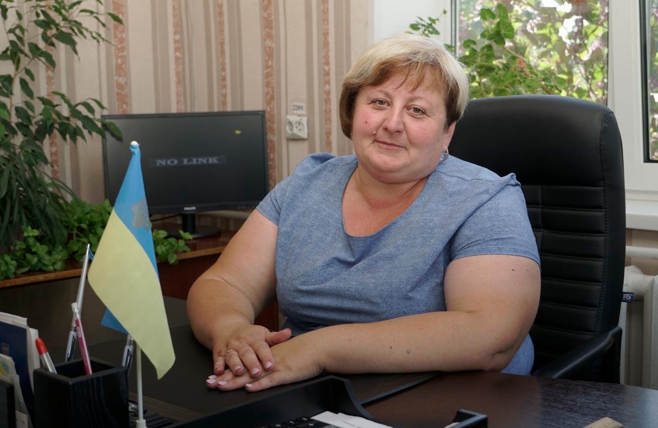 Голова Старицьківської сільської ради Наталія Горіздра