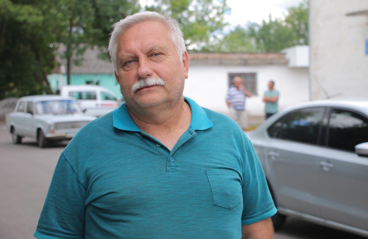 Заступник голови Коломацької ОТГ Олександр Кулініч