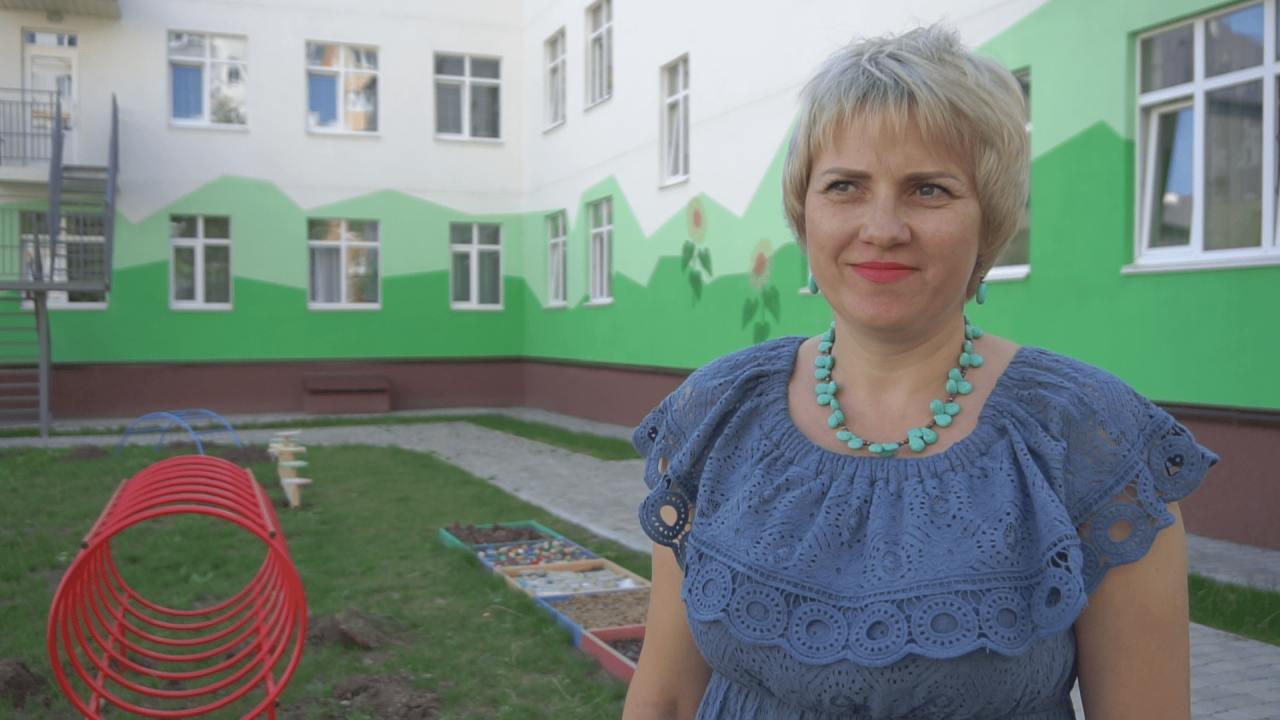 Директорка Розсошенського дитячого садочку «Яблунька» Лариса Кирячок