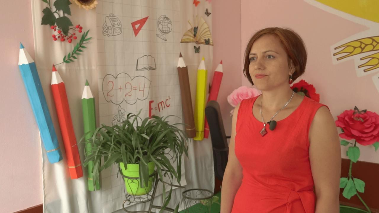 Начальниця відділу освіти виконавчого комітету Щербанівської сільської ради Олеся Осадча