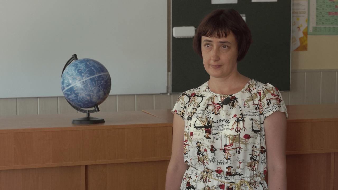 Вчителька фізики та математики Розсошенської гімназії Ольга Усенко